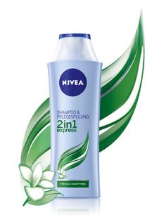 NIVEA 2in1 express Shampoo & Pflegespülung