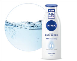 NIVEA Express Body Lotion in der Botschafter-Aktion.