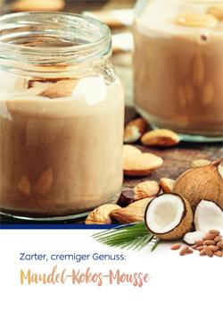 Rezept für Mandel-Kokos-Mousse.