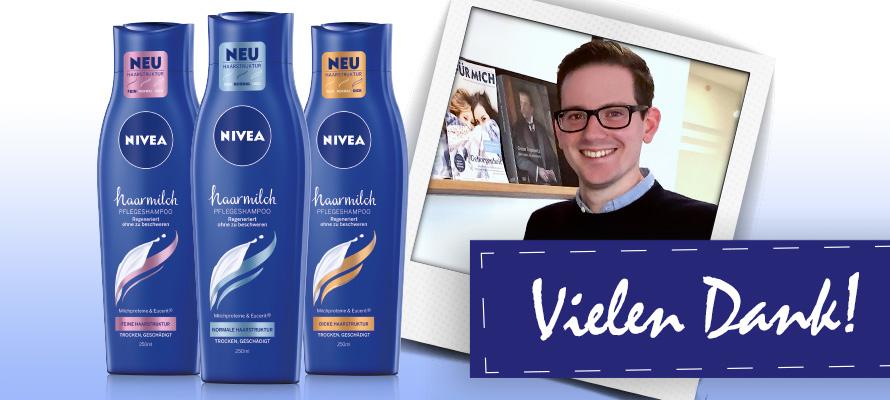 NIVEA Haarmilch: Wir sagen Danke!