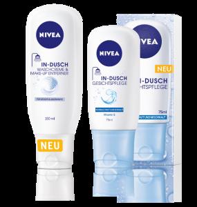 NIVEA In-Dusch für das Gesicht Waschcreme & Make-up Entferner Gesichtspflege