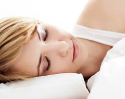 Sauerstoffaufnahme der Haut in der Nacht steigern.